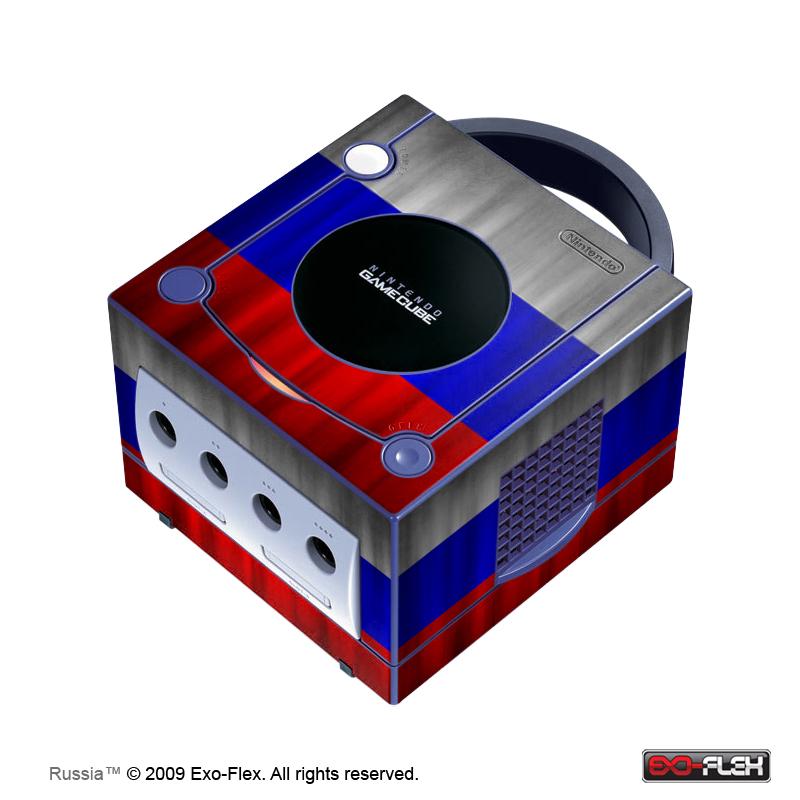 Russia GameCube Console Skin