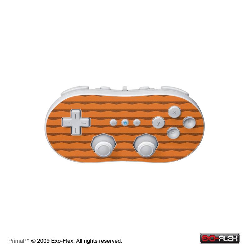 Primal Wii Classic Controller Skin