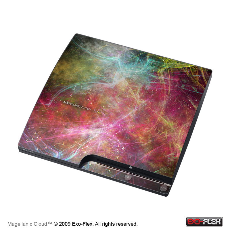 Magellanic Cloud PS3 Slim Console Skin
