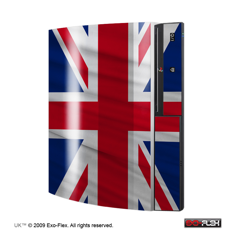 UK PS3 Console Skin