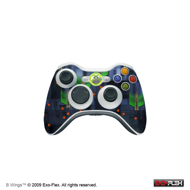 B Wings Xbox 360 Controller Skin