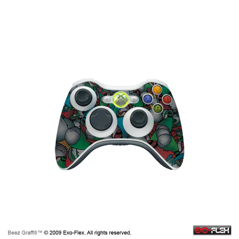 Beez Graffiti Xbox 360 Controller Skin