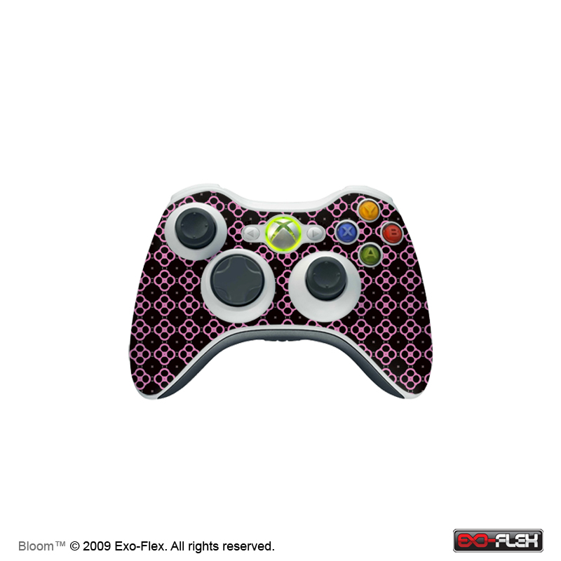 Bloom Xbox 360 Controller Skin