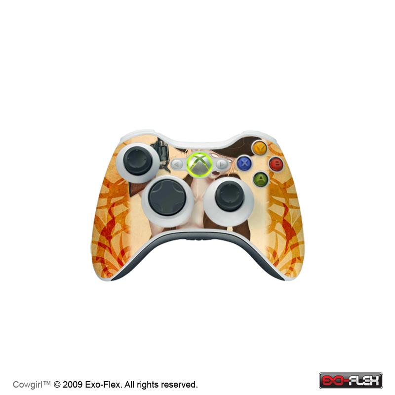 Cowgirl Xbox 360 Controller Skin