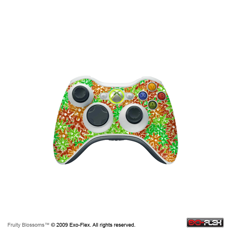 Fruity Blossoms Xbox 360 Controller Skin