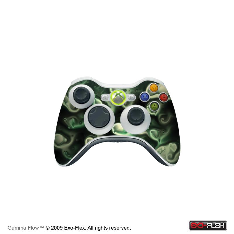 Gamma Flow Xbox 360 Controller Skin