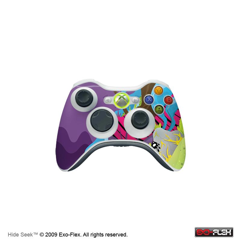 Hide Seek Xbox 360 Controller Skin