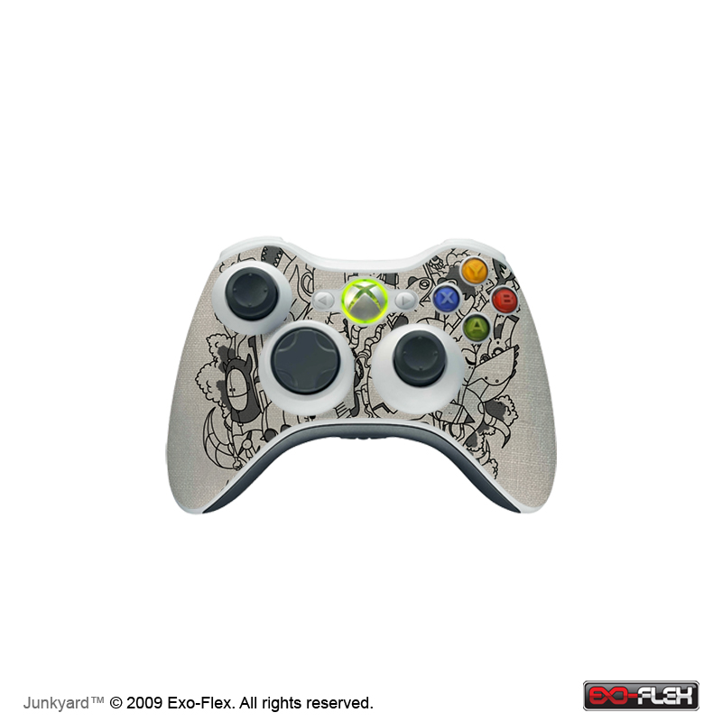Junkyard Xbox 360 Controller Skin