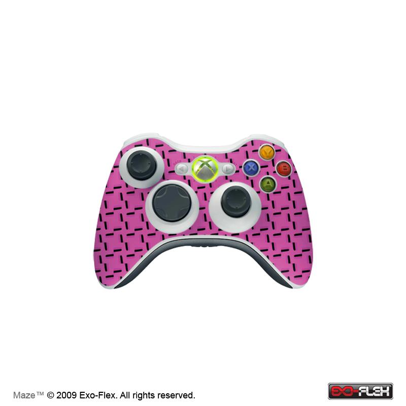 Maze Xbox 360 Controller Skin