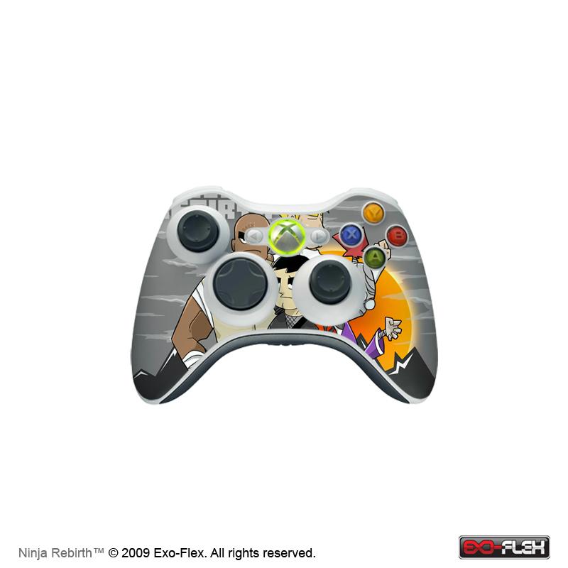 Ninja Rebirth Xbox 360 Controller Skin