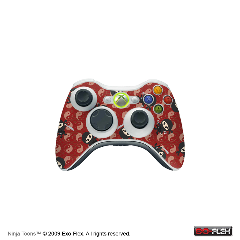 Ninja Toons Xbox 360 Controller Skin