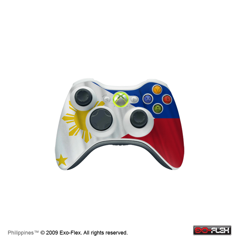 Philippines Xbox 360 Controller Skin