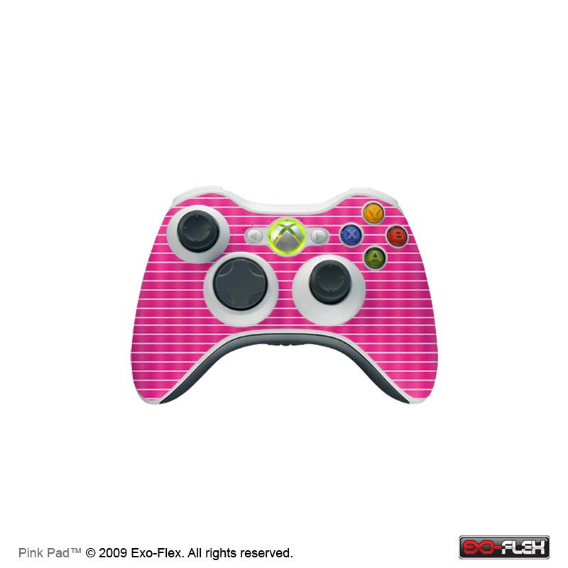 Pink Pad Xbox 360 Controller Skin