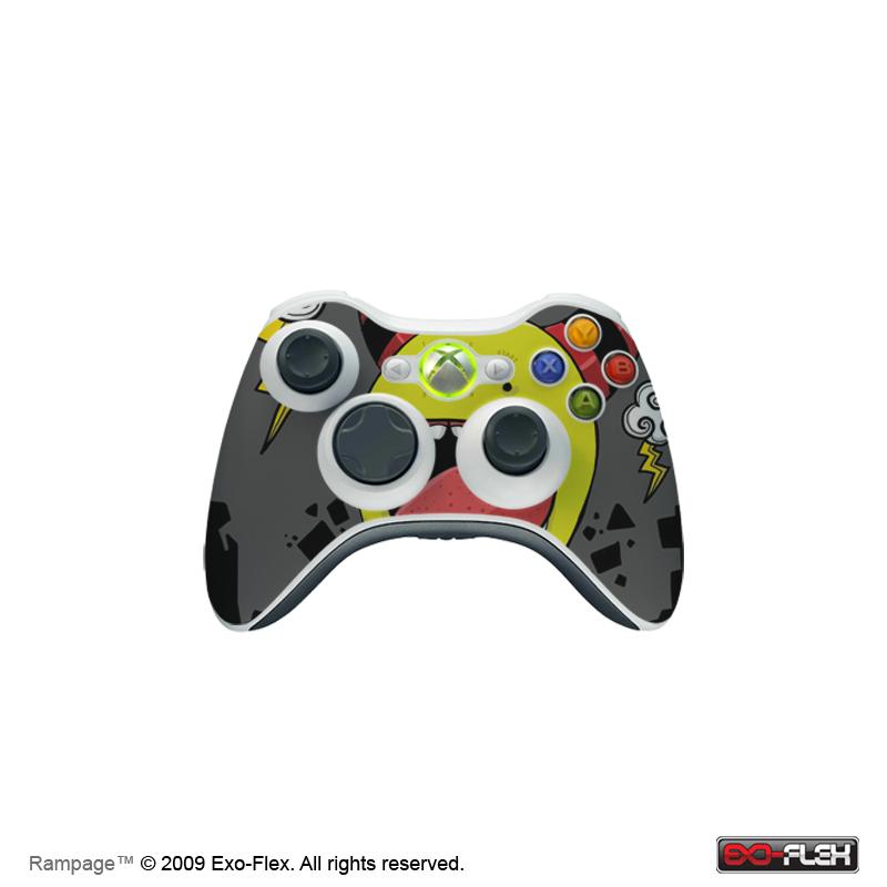 Rampage XBOX 360 Controller Skin