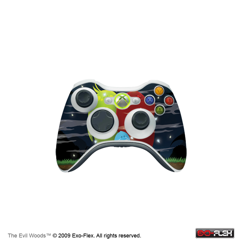 The Evil Woods Xbox 360 Controller Skin