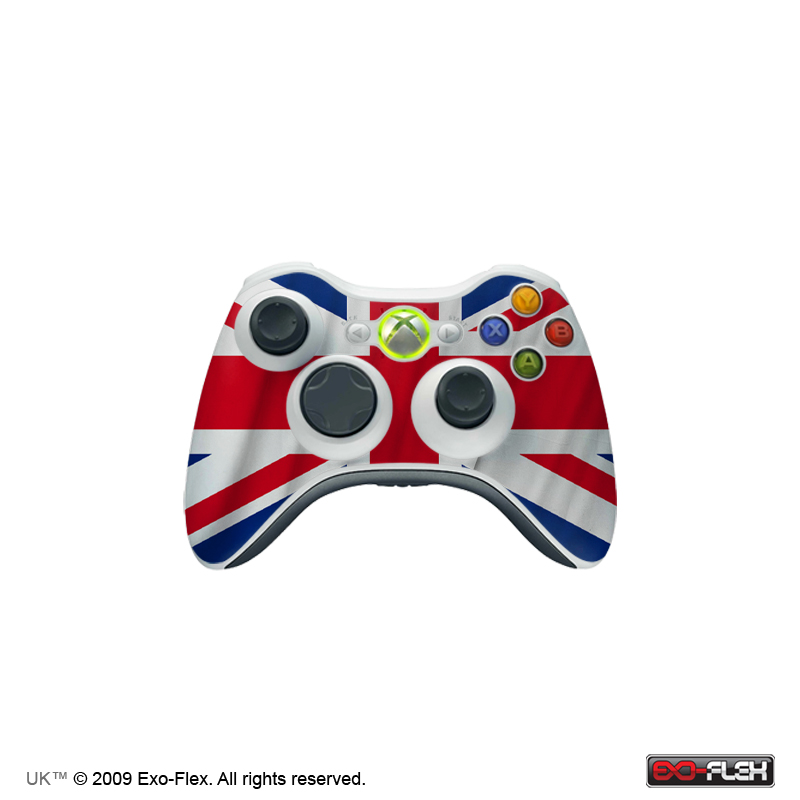 UK Xbox 360 Controller Skin