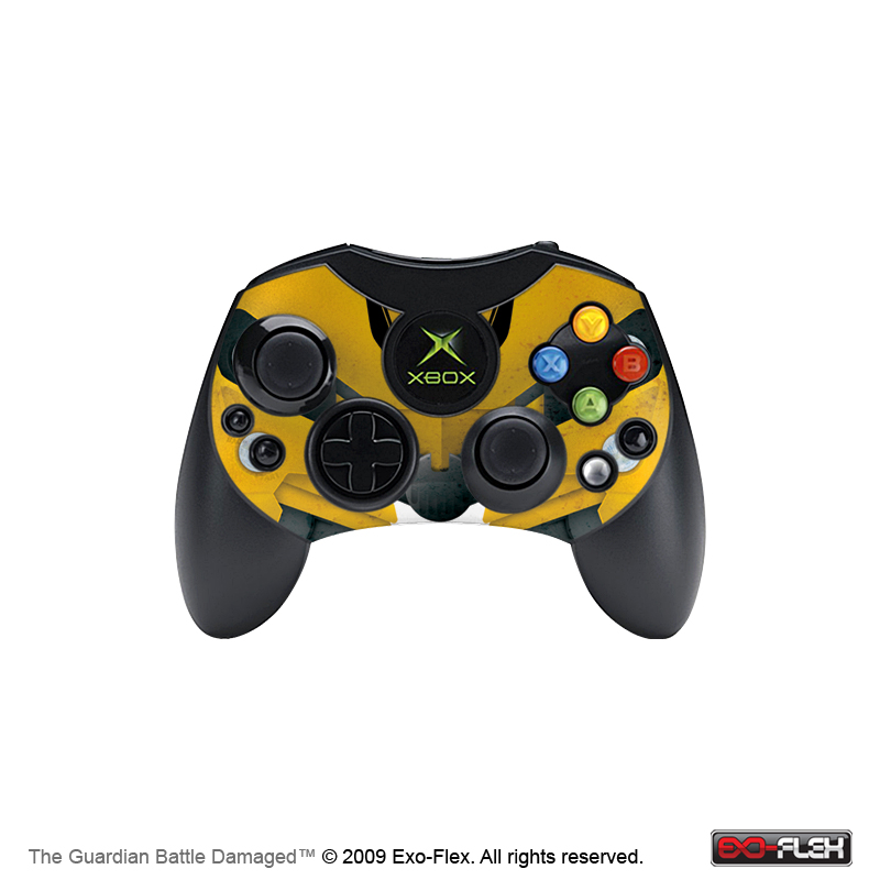 The Guardian Battle Damaged Xbox Controller Skin