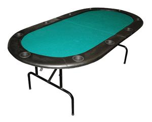 Buy cheap 10 player full size poker table 84 for 10 player poker table top