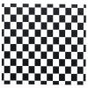 Black and White Check Activity Placemats - paper