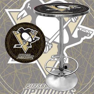 Buy Cheap Nhl Pittsburgh Penguins Pub Table